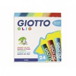 Lápiz Pastel Óleo 24und. Giotto