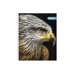 Cuaderno universitario fauna 7mm. 100 hojas Torre