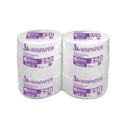 Papel higiénico Jumbo 6 rollos 250 mts Winkler