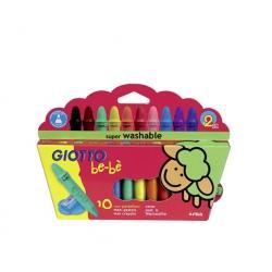 Crayón 10 colores bebe Giotto