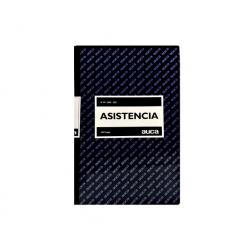 Libro Control de Asistencia 100 Hojas Auca