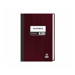 Libro Control de Asistencia (Nº122) 200 Hojas Buho