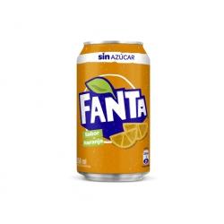 Bebida en Lata 350cc. Zero Fanta