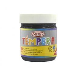 Tempera Frasco 100ml. Negro Artel