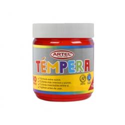 Tempera Frasco 100ml. Bermellon Artel