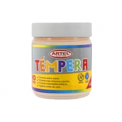 Tempera Frasco 100ml. Rosa Carne Artel