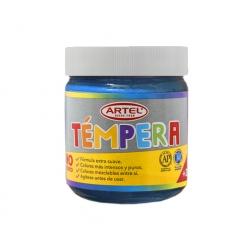 Tempera Frasco 100ml. Celeste Artel