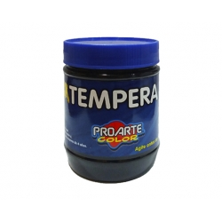 Tempera Frasco 120ml Negro Proarte