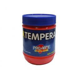 Tempera Frasco 120ml Rojo Proarte