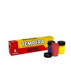 Tempera 6 Colores 15ml. Ross