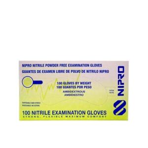 Guante de Nitrilo Clínico Certificado Nipro