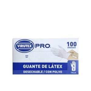 Guante Latex Talla S C/Polvo Virutex