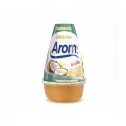 Desodorante Ambiental Cono Gel 199grs. vainilla coco Arom