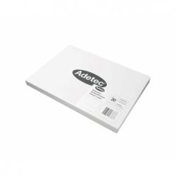 Etiqueta Inkjet/laser 100 Hojas 70x35mm Blanca.