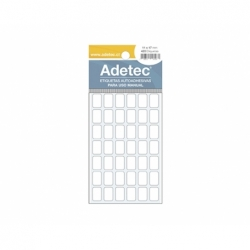 Etiqueta Adhesiva 11x17mm. 420 Unidades 6Hojas.