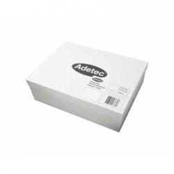 Etiqueta Inkjet/laser 500 Hojas 106x35mm. Carta Blanca