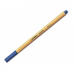 Lapiz Fibra Point 88 0.4 Azul Stabilo Boss
