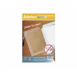 Forro Autoadhesivo Transparente 50x37,5cm. Adetec