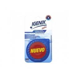 Desinfectante WC pastilla 1 unidad azul igenix