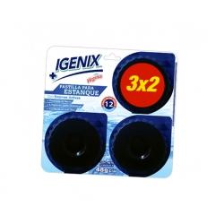 Pastilla Estanque WC 3 unidades azul igenix