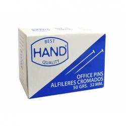 Alfileres Nº3250 32 mm. 50 grs. Hand