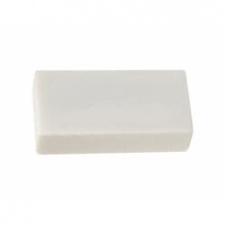 Goma de Borrar Plástica  41x17mm. 1 cm. Gabba