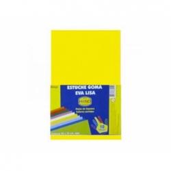 Goma Eva 20 x 30 2 mm. amarillo-oro 10 unidades Hand