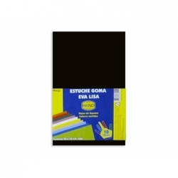 Goma Eva 20 x 30 2 mm. 10 unidades negro Hand