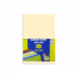 Goma Eva 20 x 30 2 mm. 10 unidades piel Hand