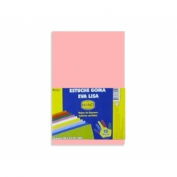 Goma Eva 20 x 30 2 mm. 10 unidades rosa lila Hand