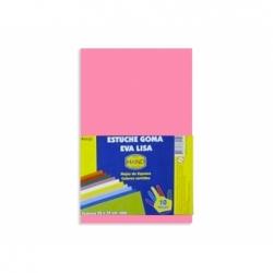 Goma Eva 20 x 30 2 mm. 10 unidades rosado Hand