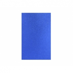 Goma Eva Glitter Pliego 40 x 60 cm 10 unidades azul Hand