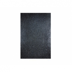 Goma Eva Glitter Pliego 40 x 60 cm 10 unidades negro Hand