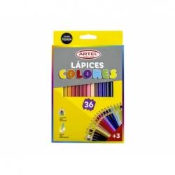 Lápices de Colores 36 unidades Artel