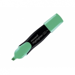 Destacador Highlighter Jumbo 604 verde Monami.