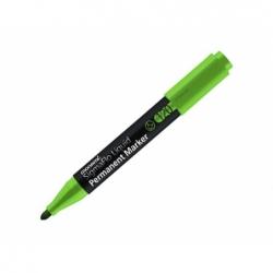 Marcador permanente 120 líquido Hi-B punta redonda verde Monami.