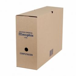 Caja Archivo Computación 33x14x47cm. Memphis