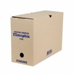 Caja Archivo Estandar 37.5 x 24 x 13.5 cm. Memphis