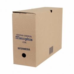 Caja archivo Intermedia  29 x 14 x 42 cm. Memphis