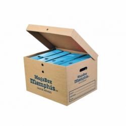 Caja archivo Megabox 45 x 36 x 29.5 cm. Memphis