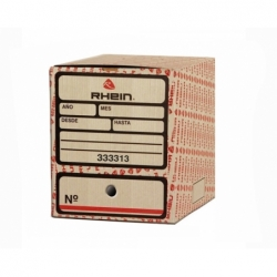 Caja Archivo 4 Archivadores (333313) Rhein
