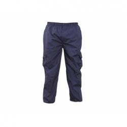 Pantalón Cargo Mujer talla M azul Poplin