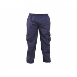 Pantalón Cargo Mujer talla S azul Poplin