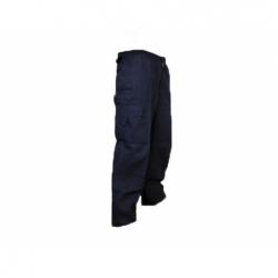 Pantalón Cargo Hombre talla XXL azul Poplin
