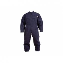 Buzo 65 % poliéster 35% algodón talla S azul Poplin