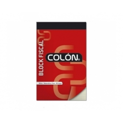 Block Fiscal Roneo 80 Hojas 7mm. Colon