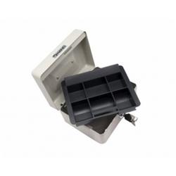 Caja de Seguridad 15x12x6cm. negra Hand
