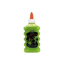 Pegamento Glitter Glue verde 177ml. Elmers