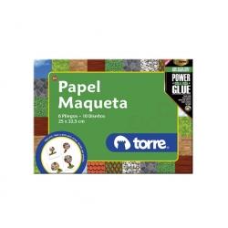 Bolson papel maqueta Imagia Torre