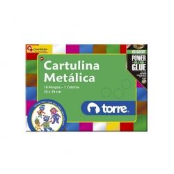 Bolson cartulina metálica Imagia Torre